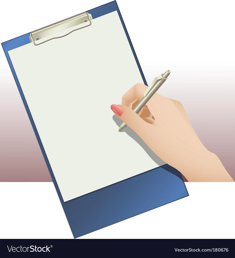Clip pad vector | Price: 1 Credit (USD $1)
