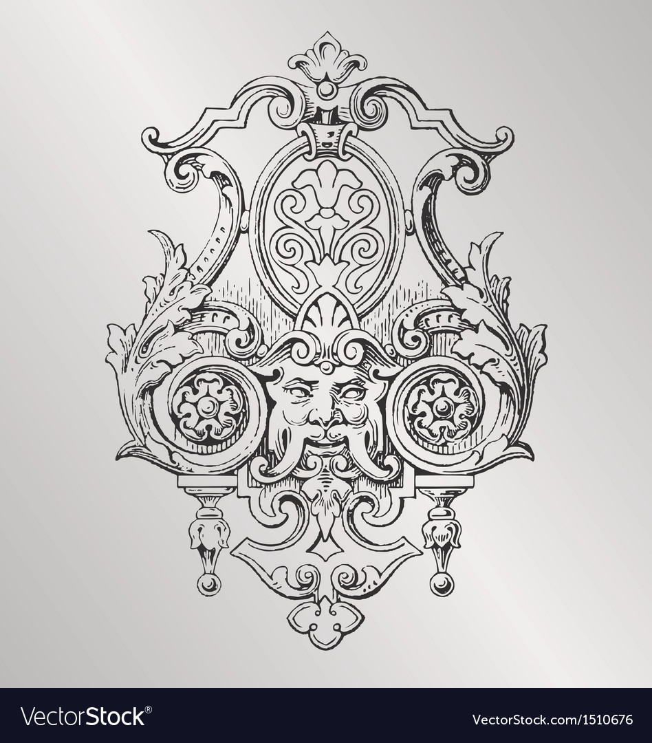 Victorian decoration vector | Price: 3 Credit (USD $3)