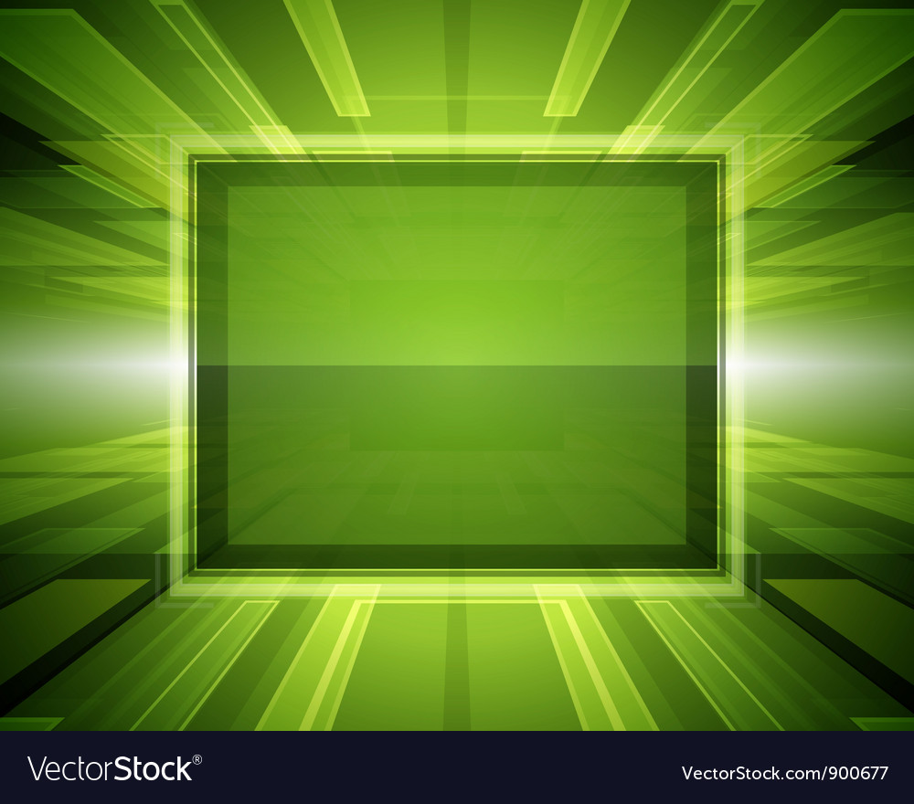 Abstract virtual space with screen vector | Price: 1 Credit (USD $1)