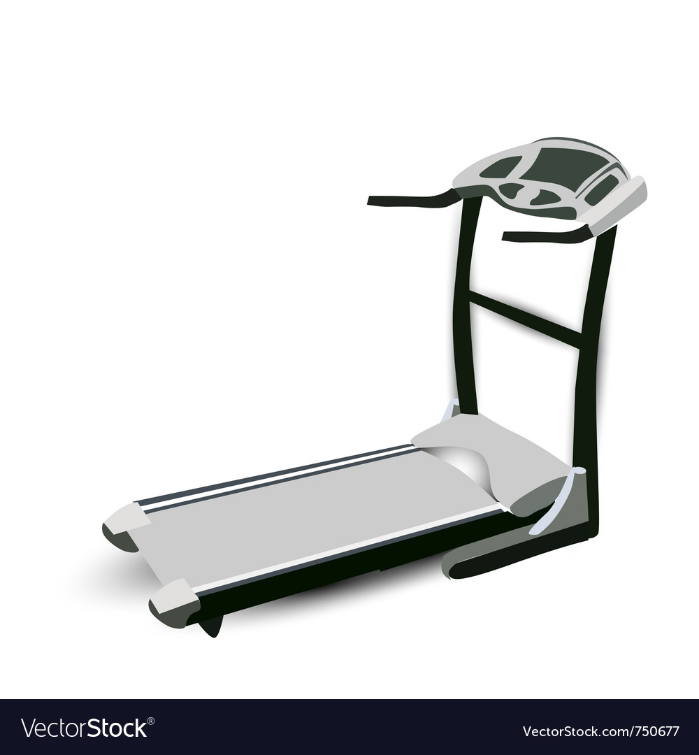 Fitness walking machine vector | Price: 1 Credit (USD $1)