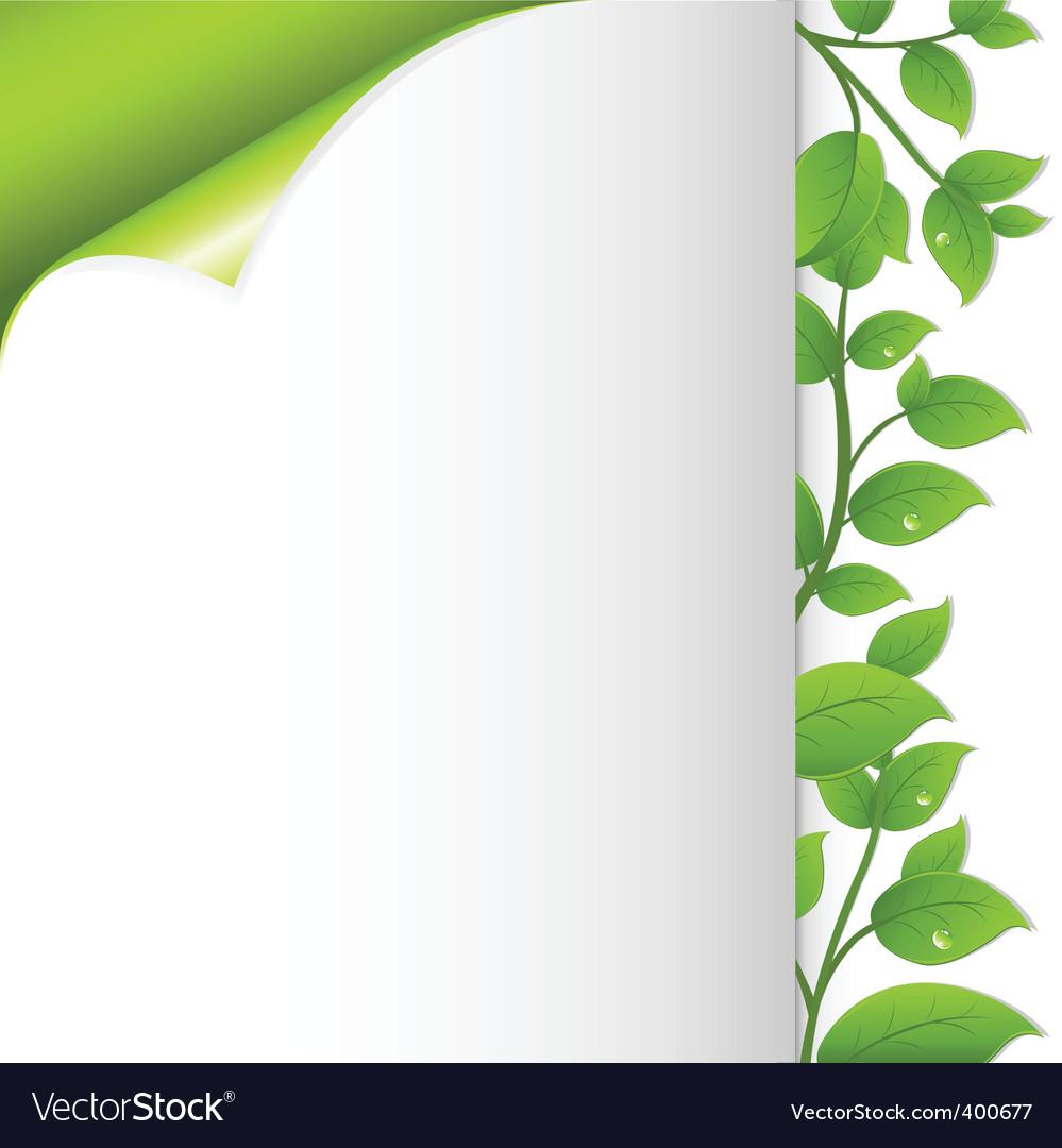 Floral notepaper vector | Price: 1 Credit (USD $1)