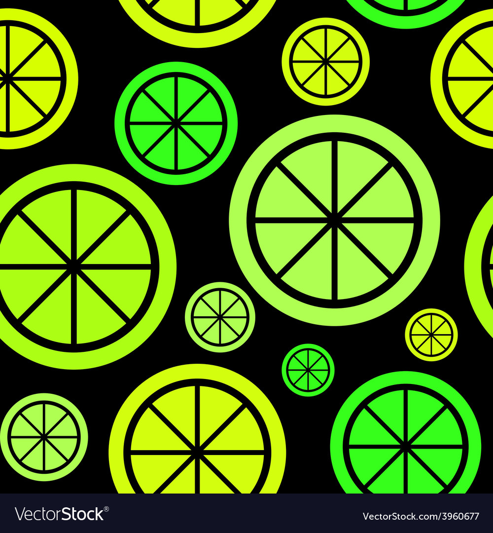 Lemon fruit abstract seamless pattern background vector | Price: 1 Credit (USD $1)