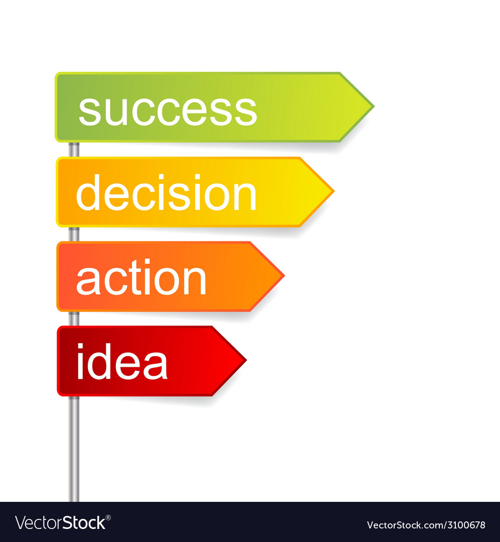 Concept indicator steps for success isolated vector   Price: 1 Credit (USD $1)