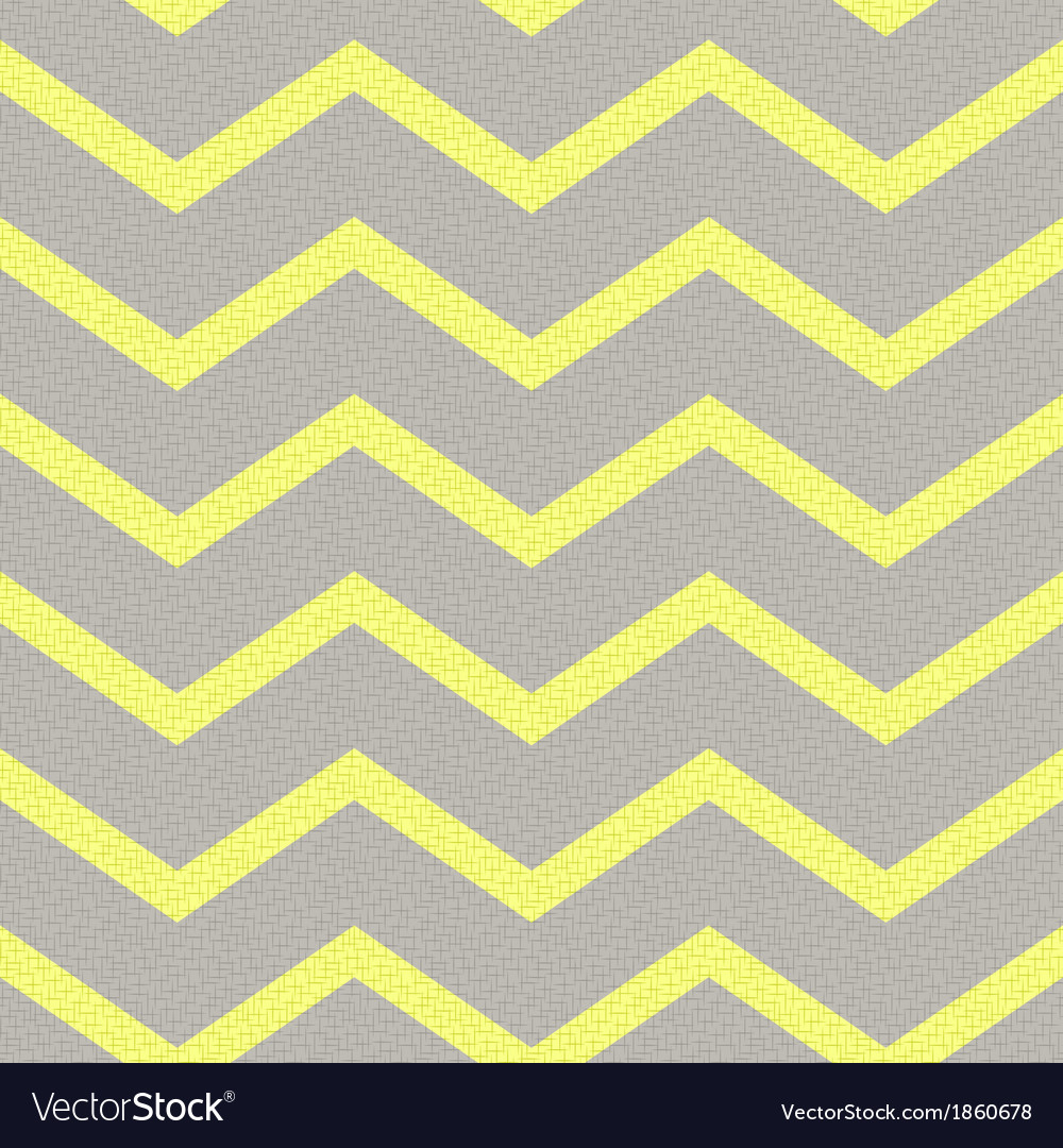 Seamless yellow grey zig zag texture vector | Price: 1 Credit (USD $1)