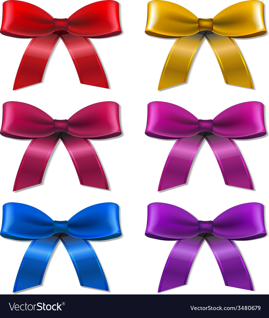 Big set bow vector | Price: 1 Credit (USD $1)