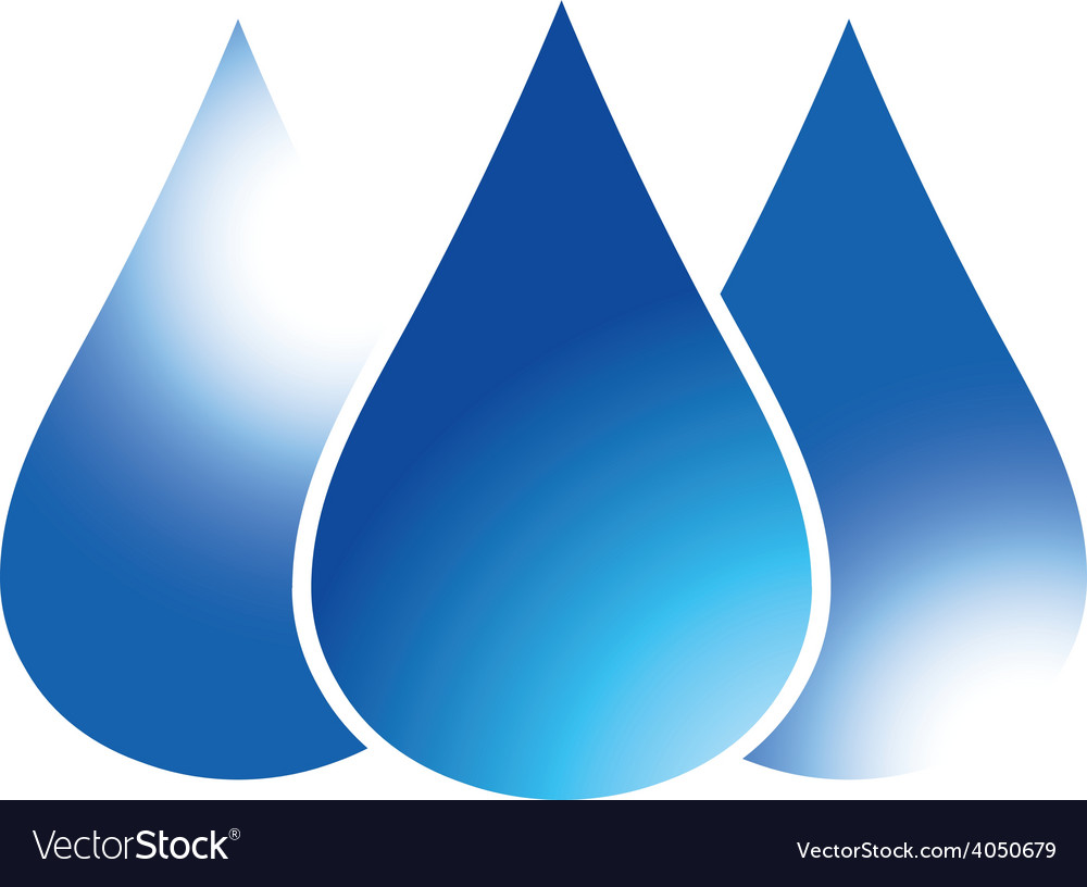 Blue drop 01 resize vector | Price: 1 Credit (USD $1)