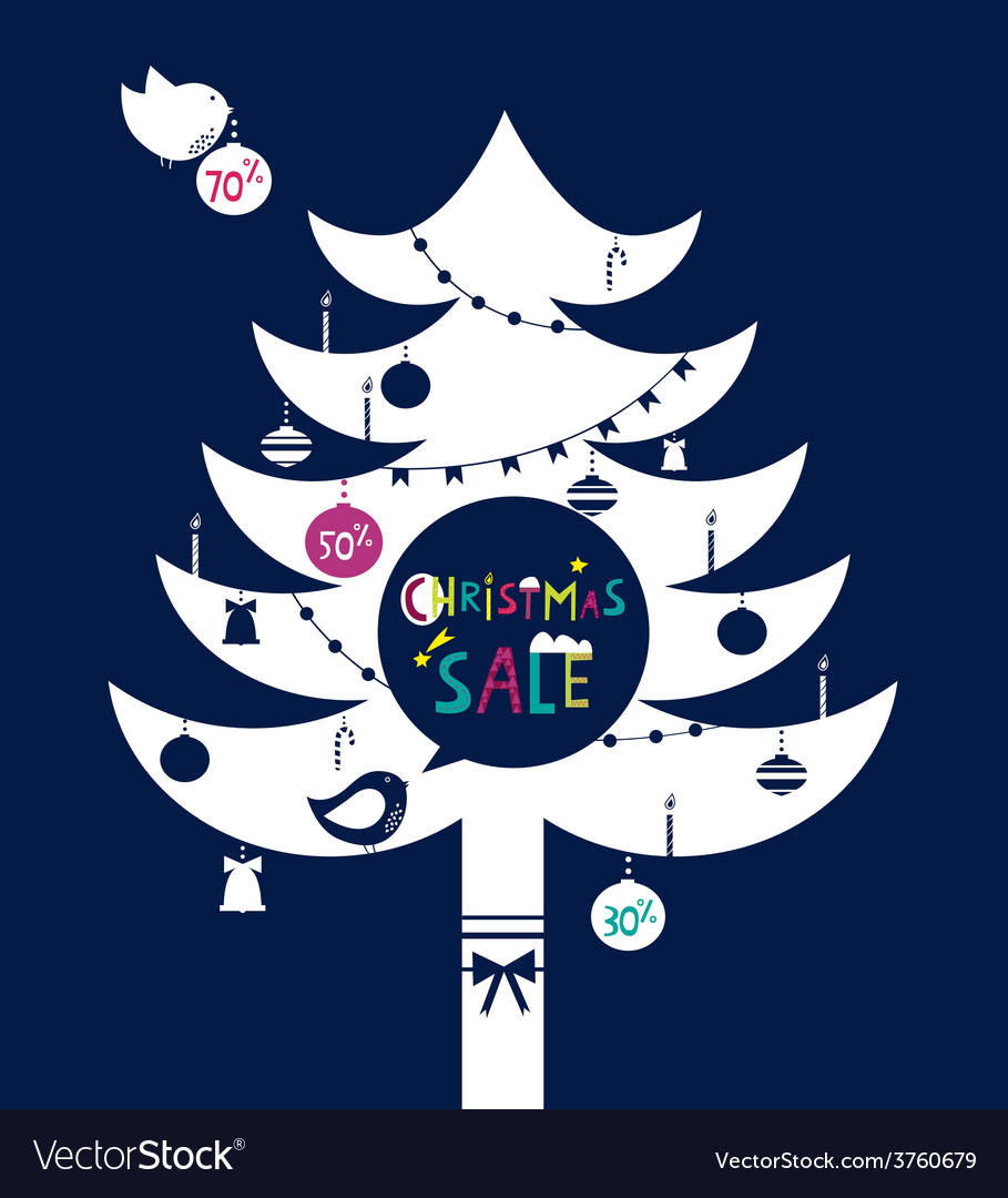 Christmas sale vector | Price: 1 Credit (USD $1)