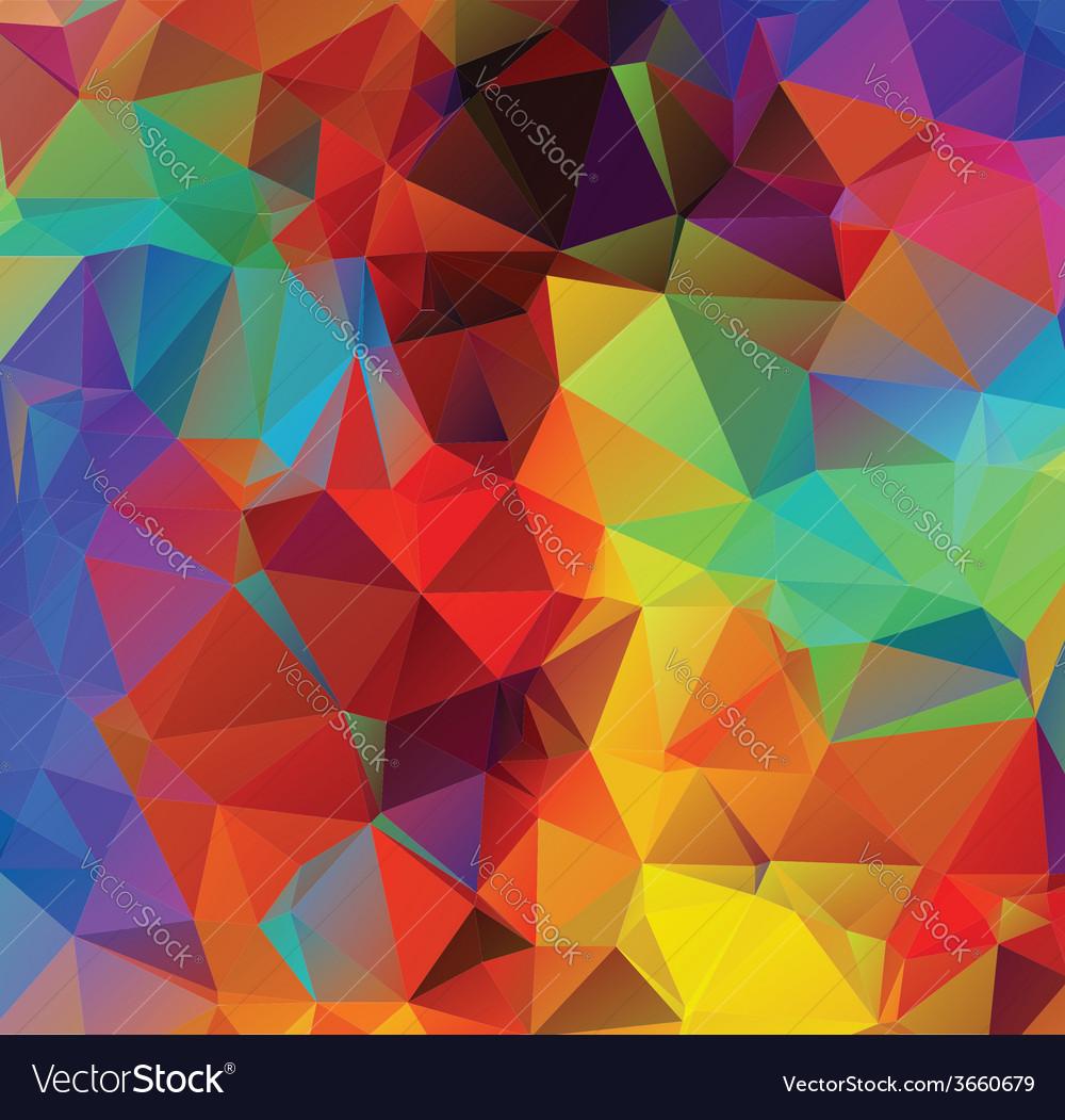 Multicolor geometric background3 vector | Price: 1 Credit (USD $1)