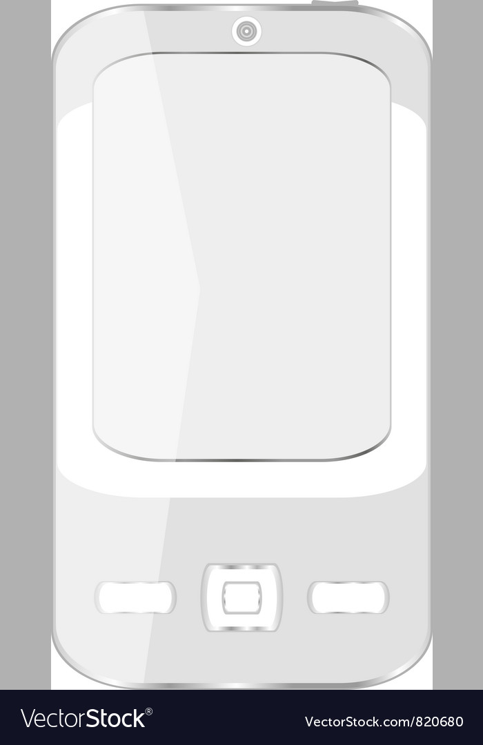 Cell smart mobile smart phone iphone vector | Price: 1 Credit (USD $1)