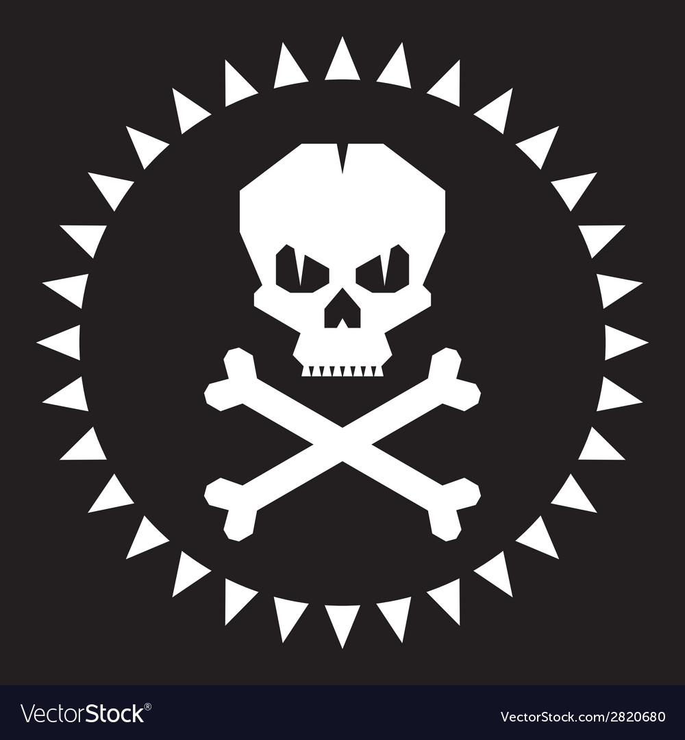 Skull - original graphic logo vector | Price: 1 Credit (USD $1)
