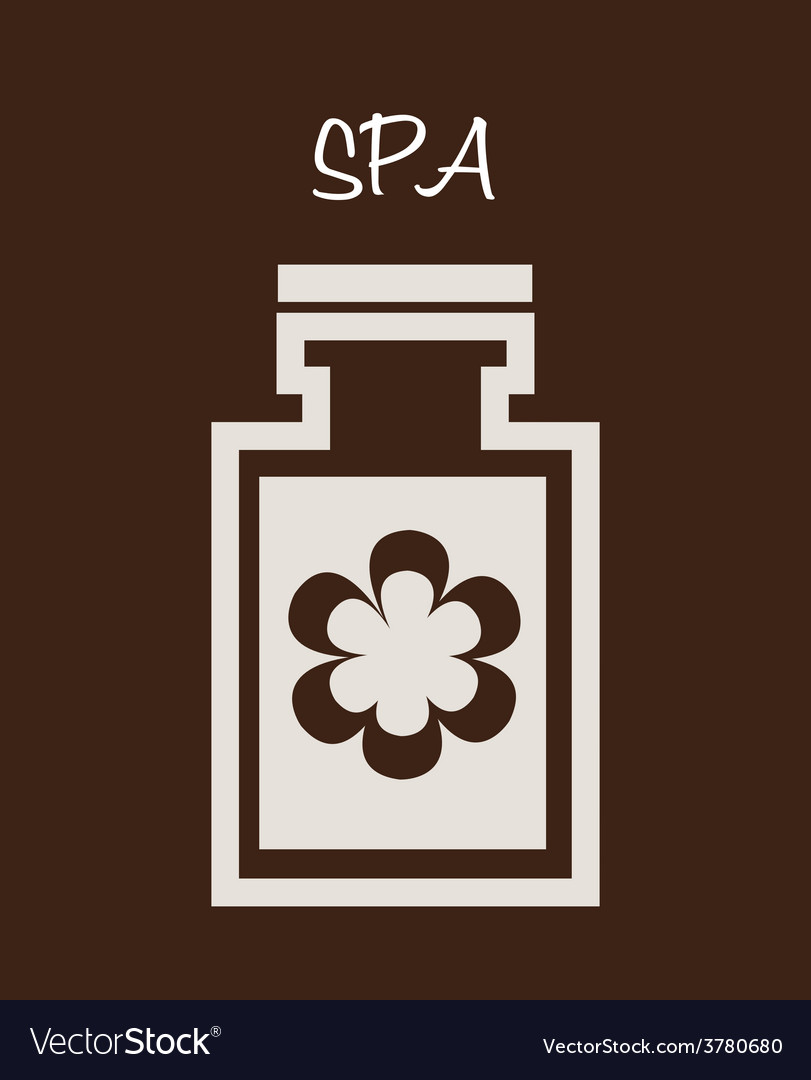 Spa therapy design vector | Price: 1 Credit (USD $1)