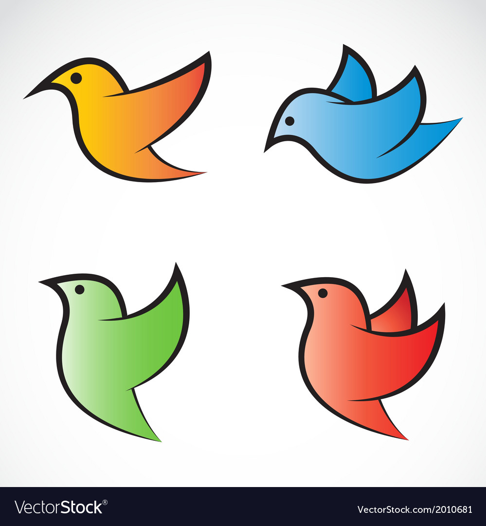 Bird group vector | Price: 1 Credit (USD $1)