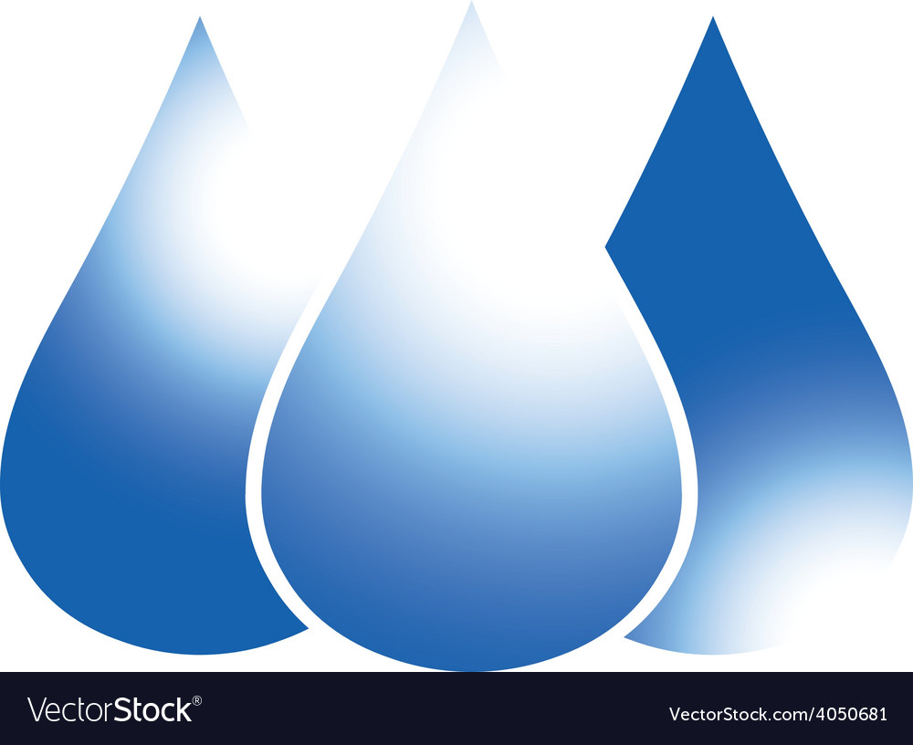Blue drop 02 resize vector | Price: 1 Credit (USD $1)