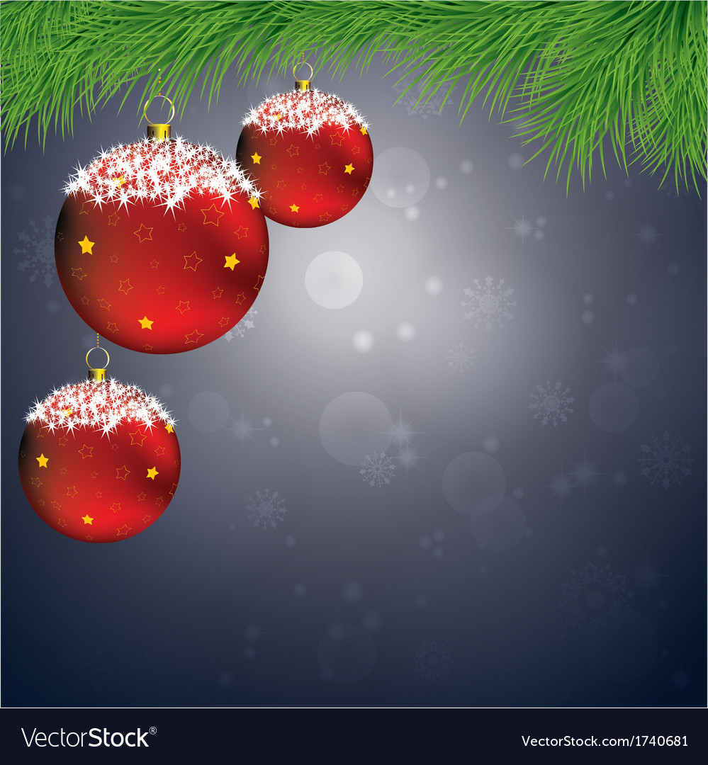 Xmas balls vector | Price: 1 Credit (USD $1)