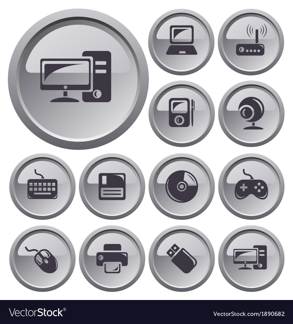Hardware buttons vector | Price: 1 Credit (USD $1)