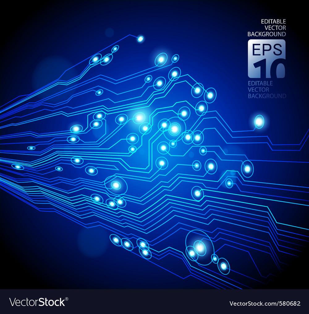 Neon circuit vector | Price: 1 Credit (USD $1)