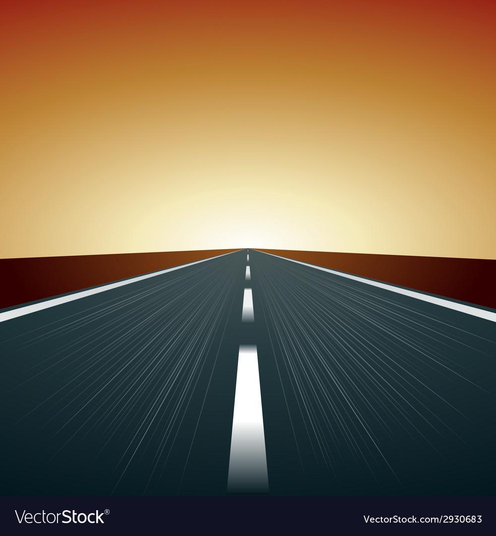 Blurred road vector | Price: 1 Credit (USD $1)