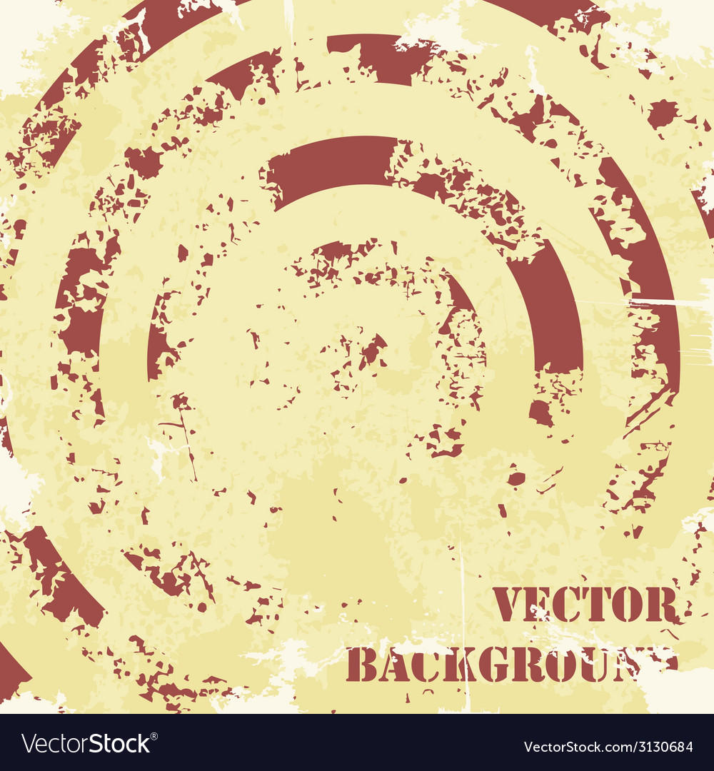 Abstract spiral grunge pattern background vector | Price: 1 Credit (USD $1)
