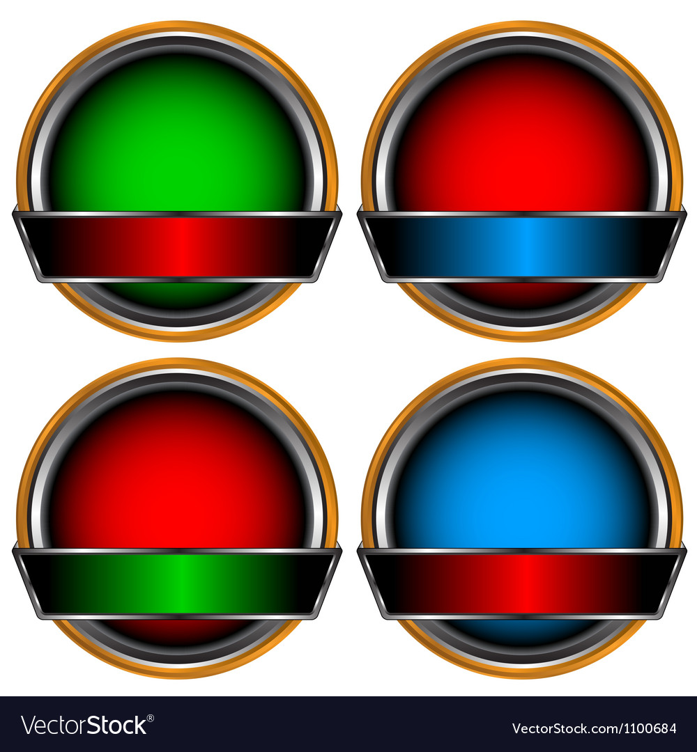 Circle form set vector | Price: 1 Credit (USD $1)