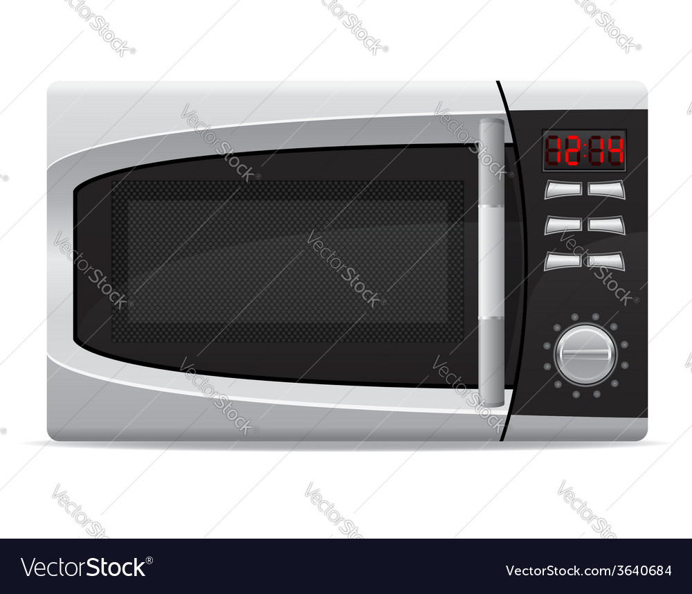 Microwave oven 02 vector | Price: 3 Credit (USD $3)