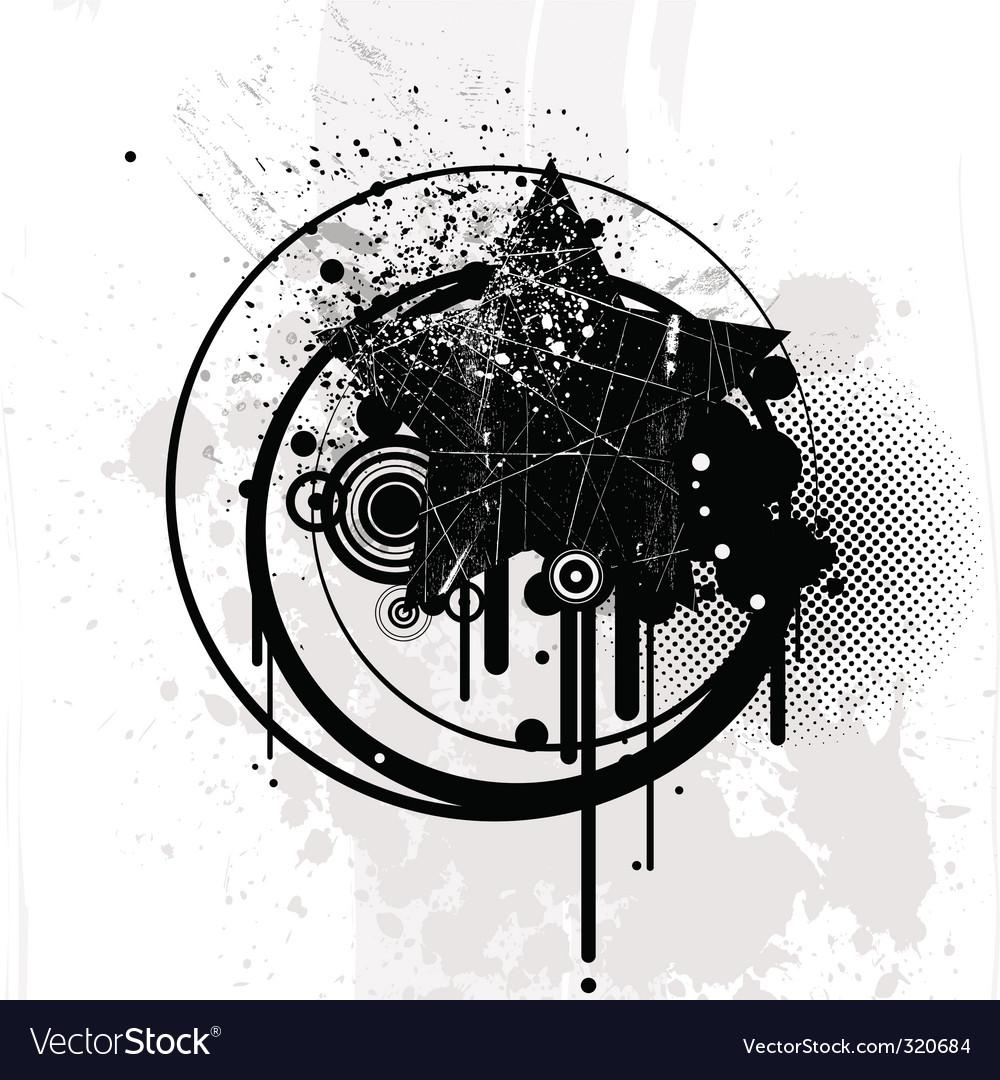 Retro grunge vector | Price: 1 Credit (USD $1)