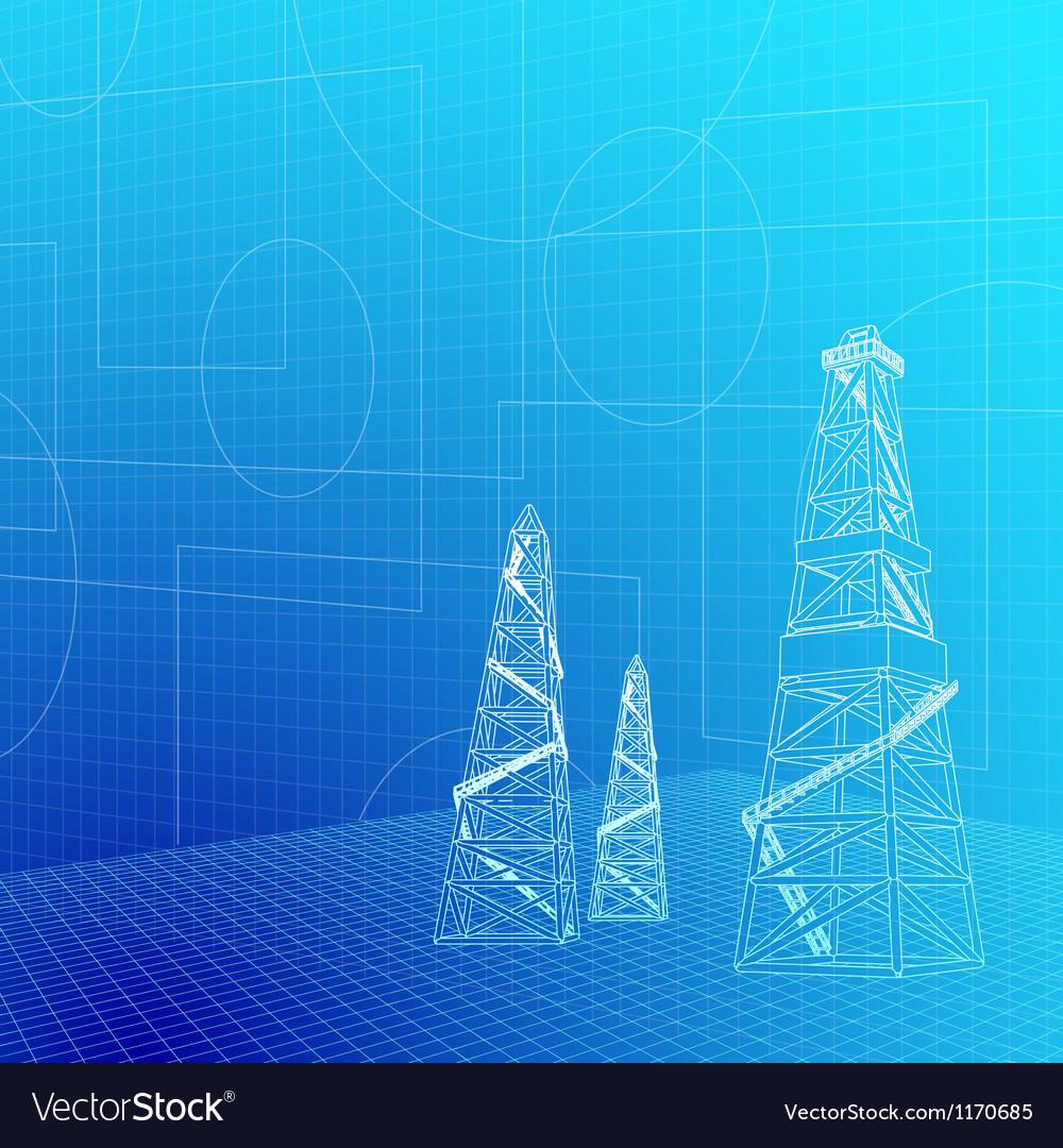 Industrial banner vector | Price: 1 Credit (USD $1)