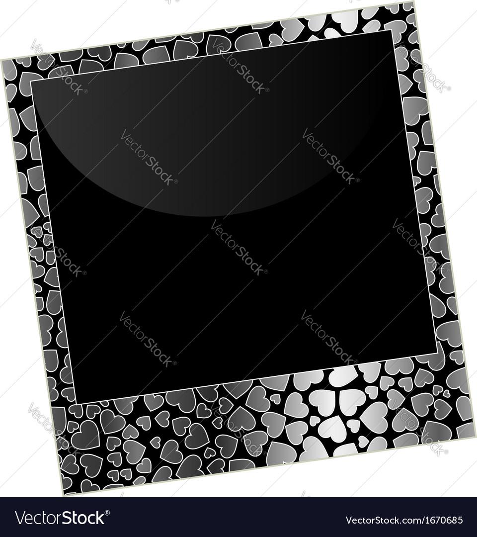 Love polaroid vector | Price: 1 Credit (USD $1)