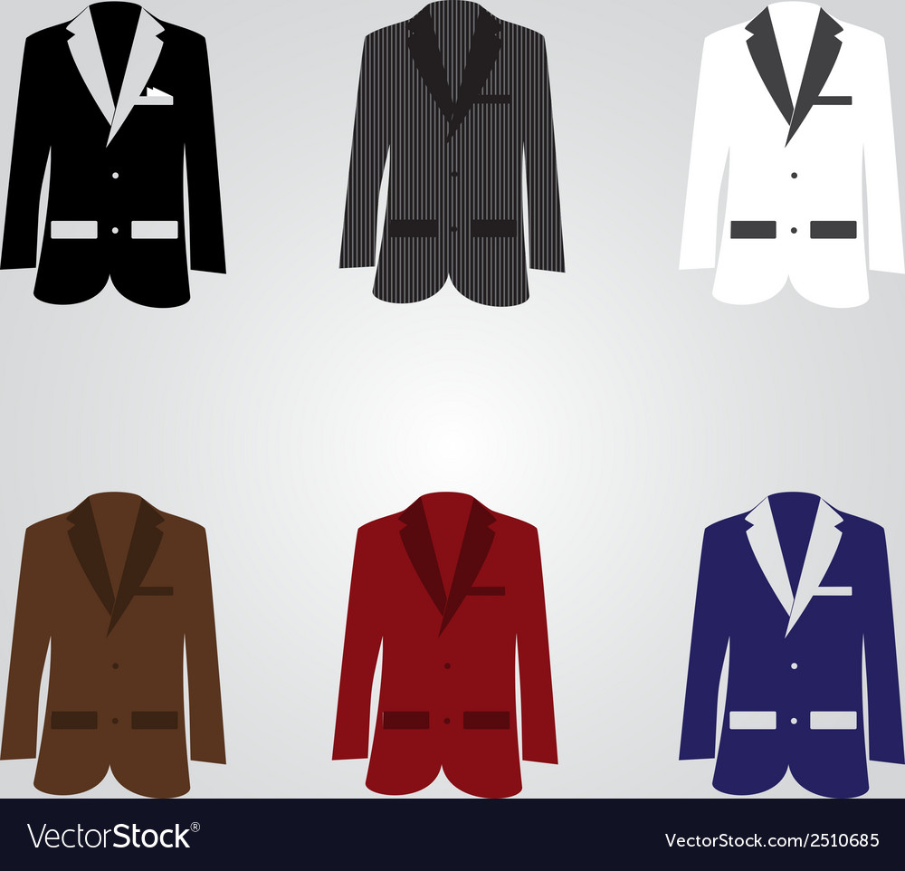 Variation of suits eps10 vector | Price: 1 Credit (USD $1)