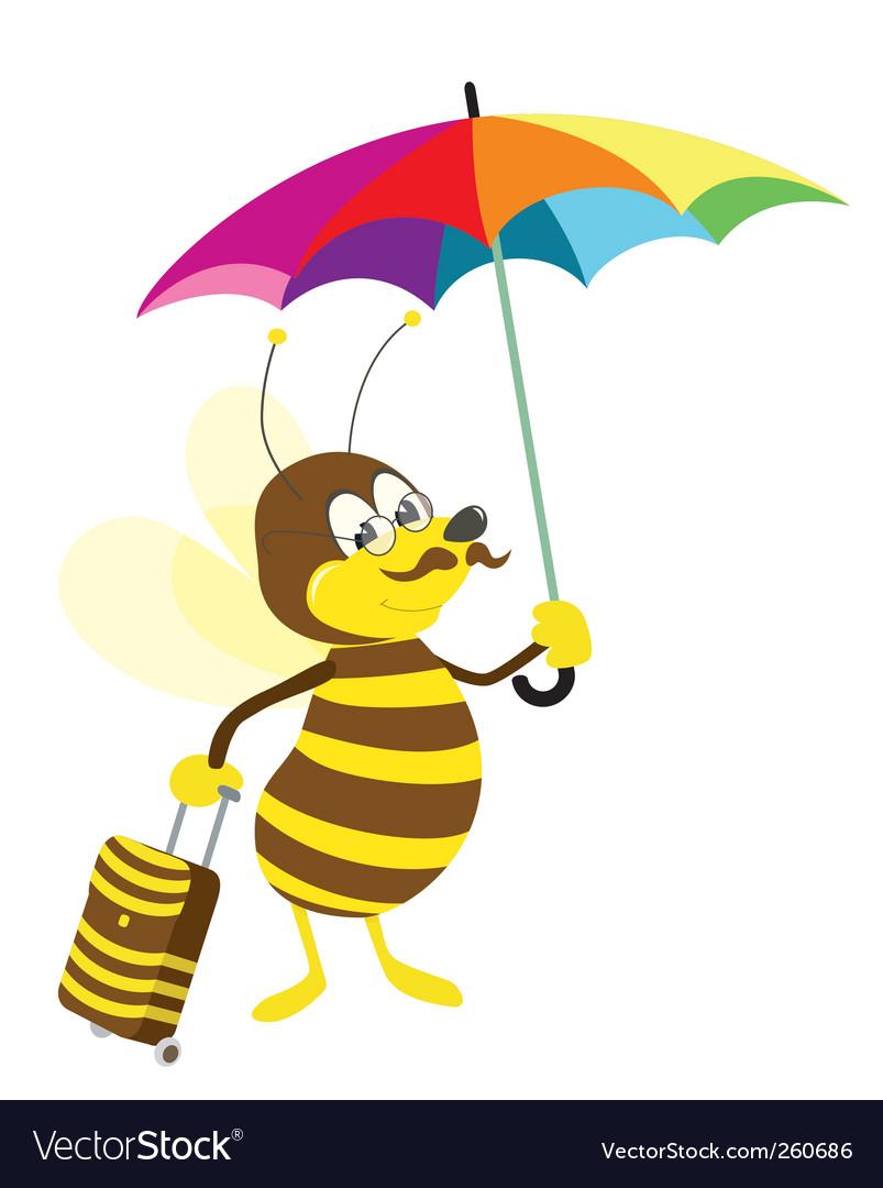 Bee vector | Price: 1 Credit (USD $1)