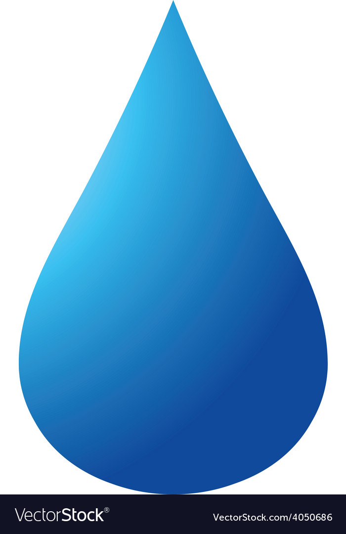 Blue drop 04 resize vector | Price: 1 Credit (USD $1)