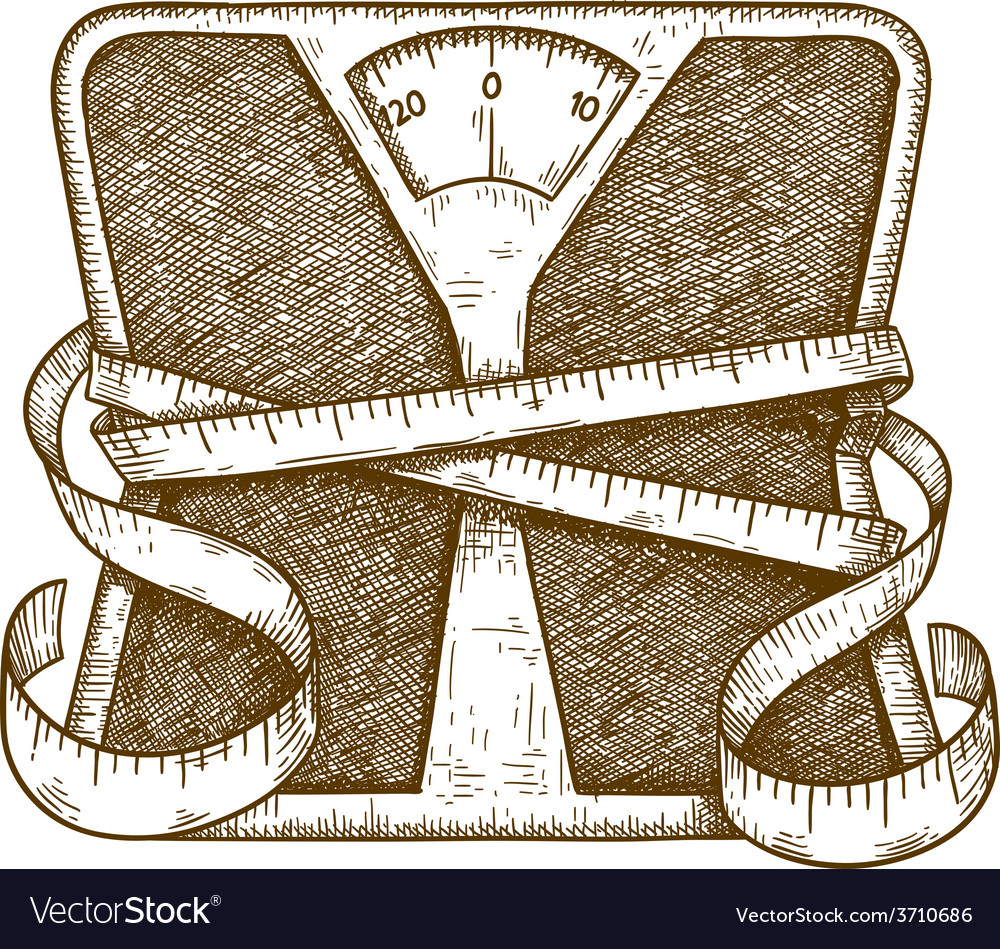 Engraving scales vector | Price: 1 Credit (USD $1)