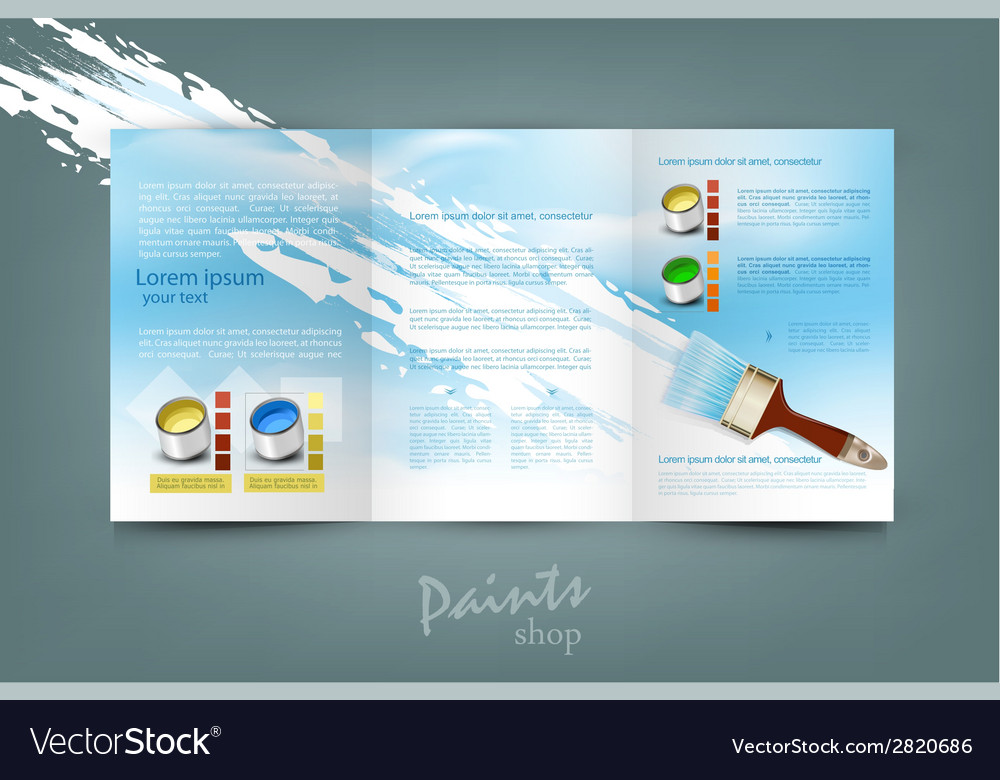 Flyer template for business vector | Price: 1 Credit (USD $1)