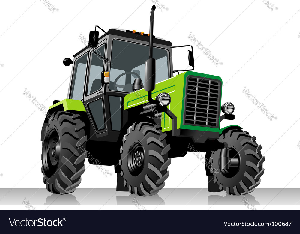 Tractor vector | Price: 3 Credit (USD $3)