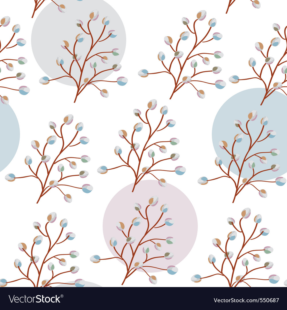Willow seamless vector | Price: 1 Credit (USD $1)