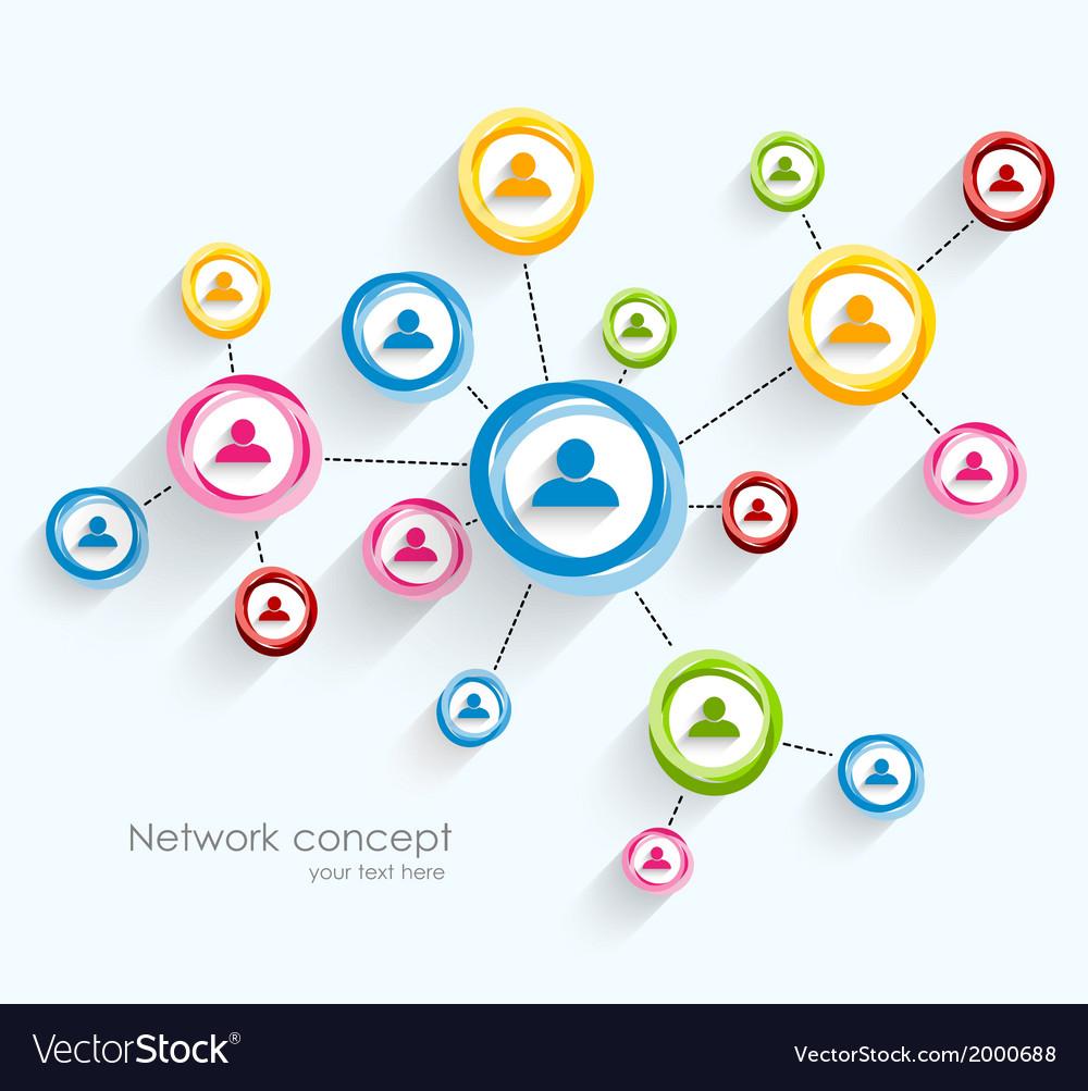 Network concept vector   Price: 1 Credit (USD $1)