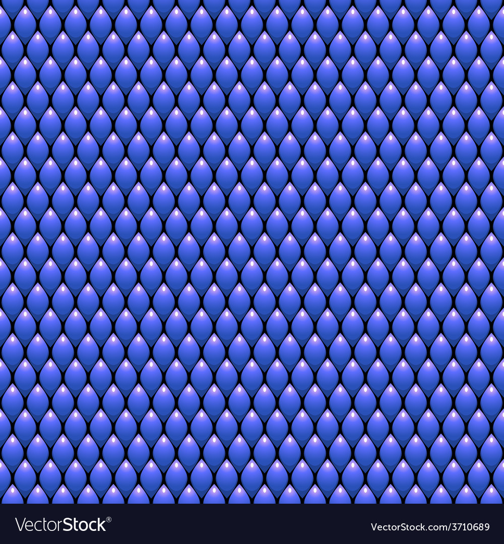 Blue scales seamless pattern texture stock vector | Price: 1 Credit (USD $1)