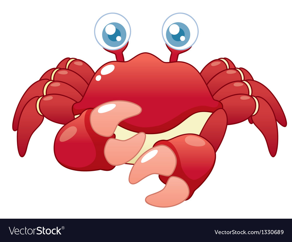 Crab vector | Price: 3 Credit (USD $3)