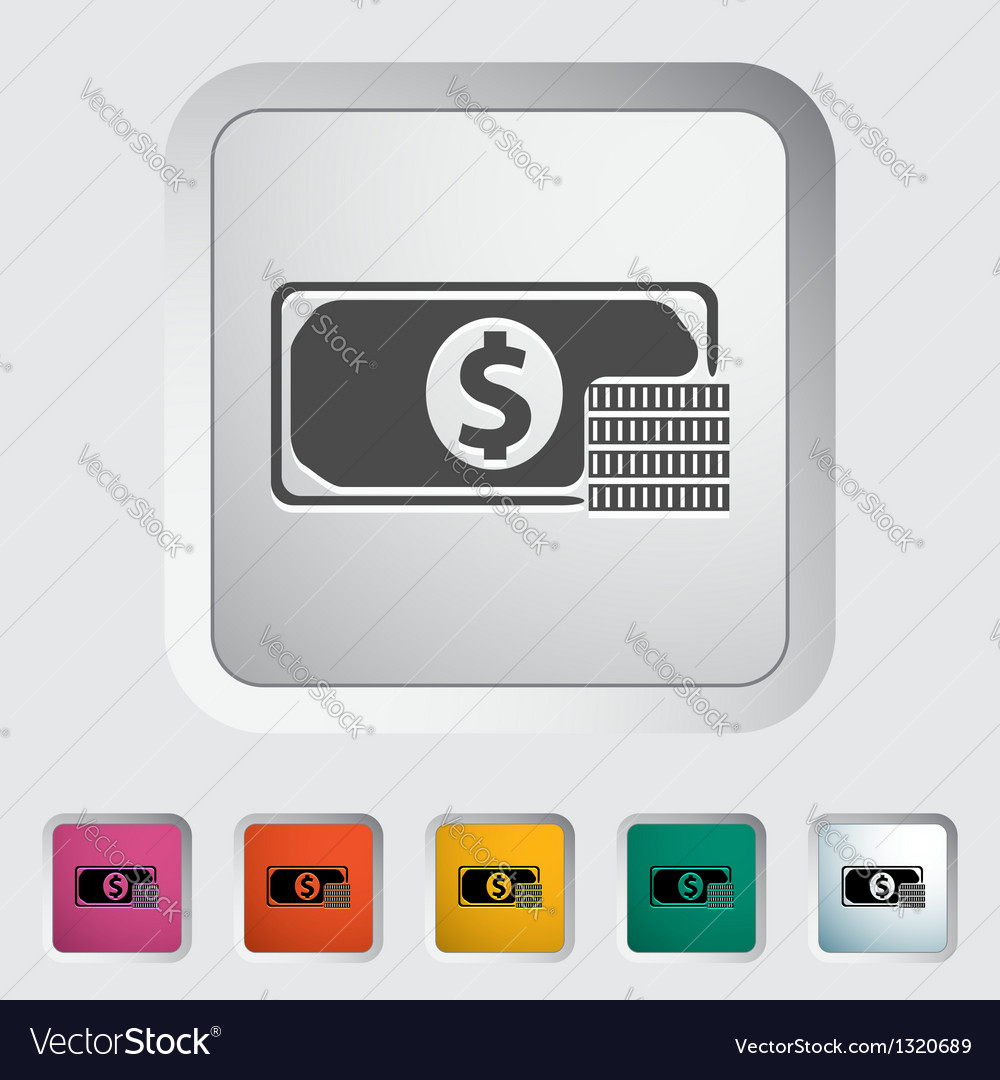 Dollar sing vector | Price: 1 Credit (USD $1)