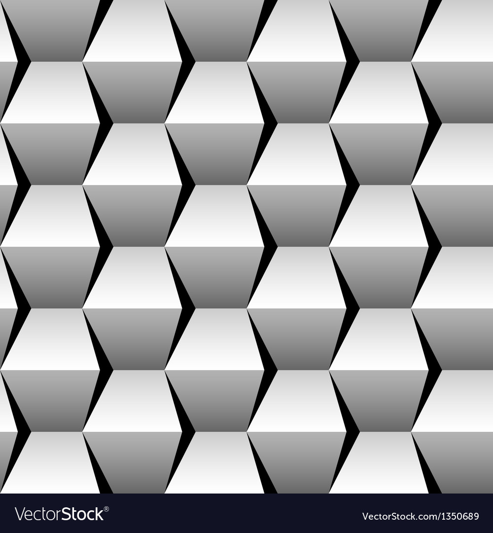 Stacked cubes seamless pattern vector | Price: 1 Credit (USD $1)