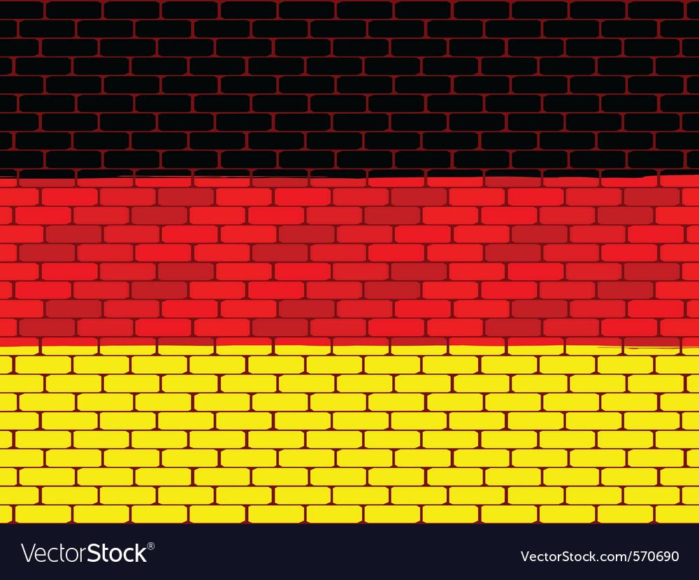 German brick wall vector | Price: 1 Credit (USD $1)