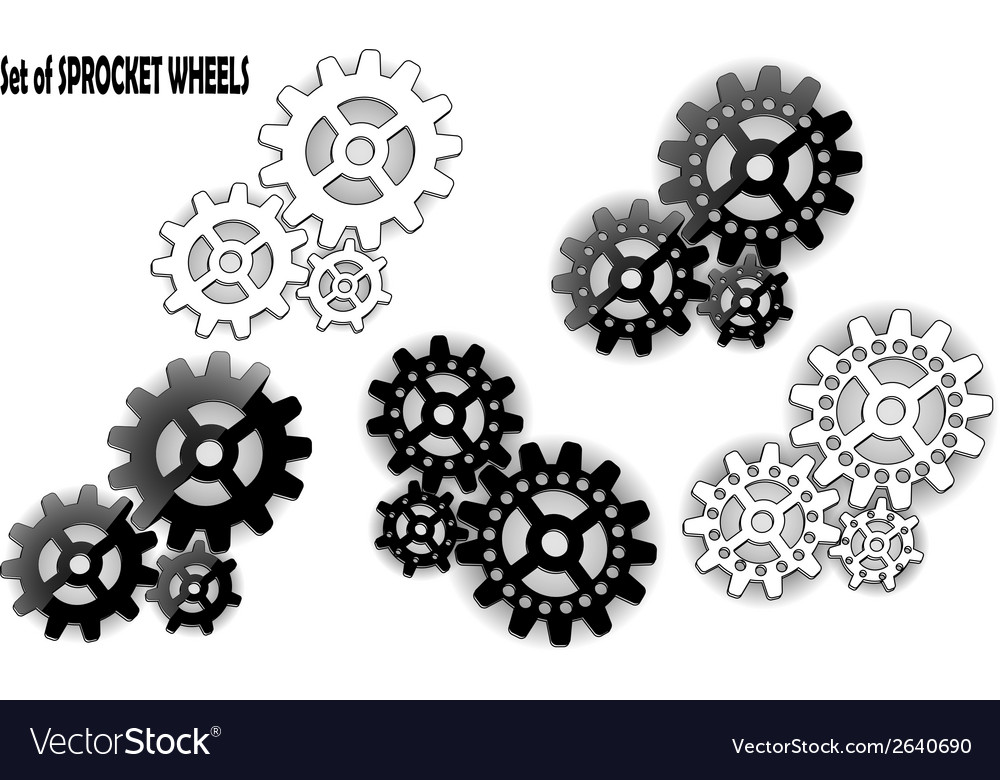 Sprocket wheel vector | Price: 1 Credit (USD $1)