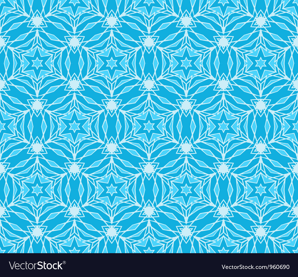 Winter vintage pattern wallpaper seamless vector | Price: 1 Credit (USD $1)