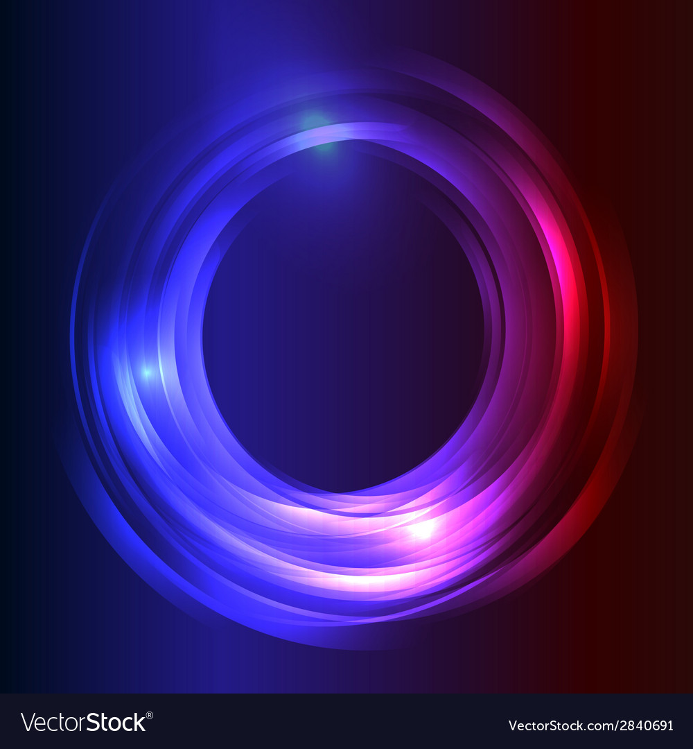 Blue business abstract circle icon vector | Price: 1 Credit (USD $1)