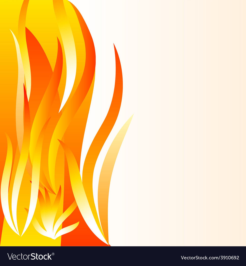 Flame background vector | Price: 1 Credit (USD $1)