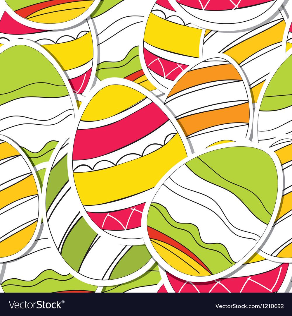 Ornamental easter eggs vector   Price: 1 Credit (USD $1)