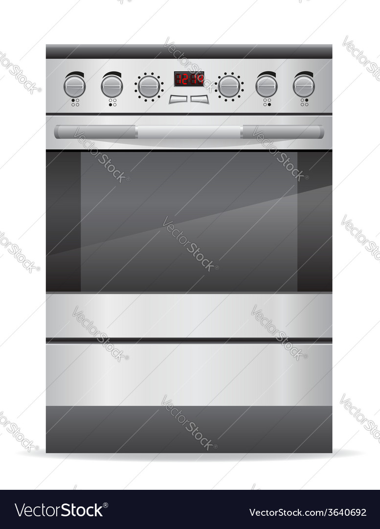 Stove for kitchen vector | Price: 3 Credit (USD $3)