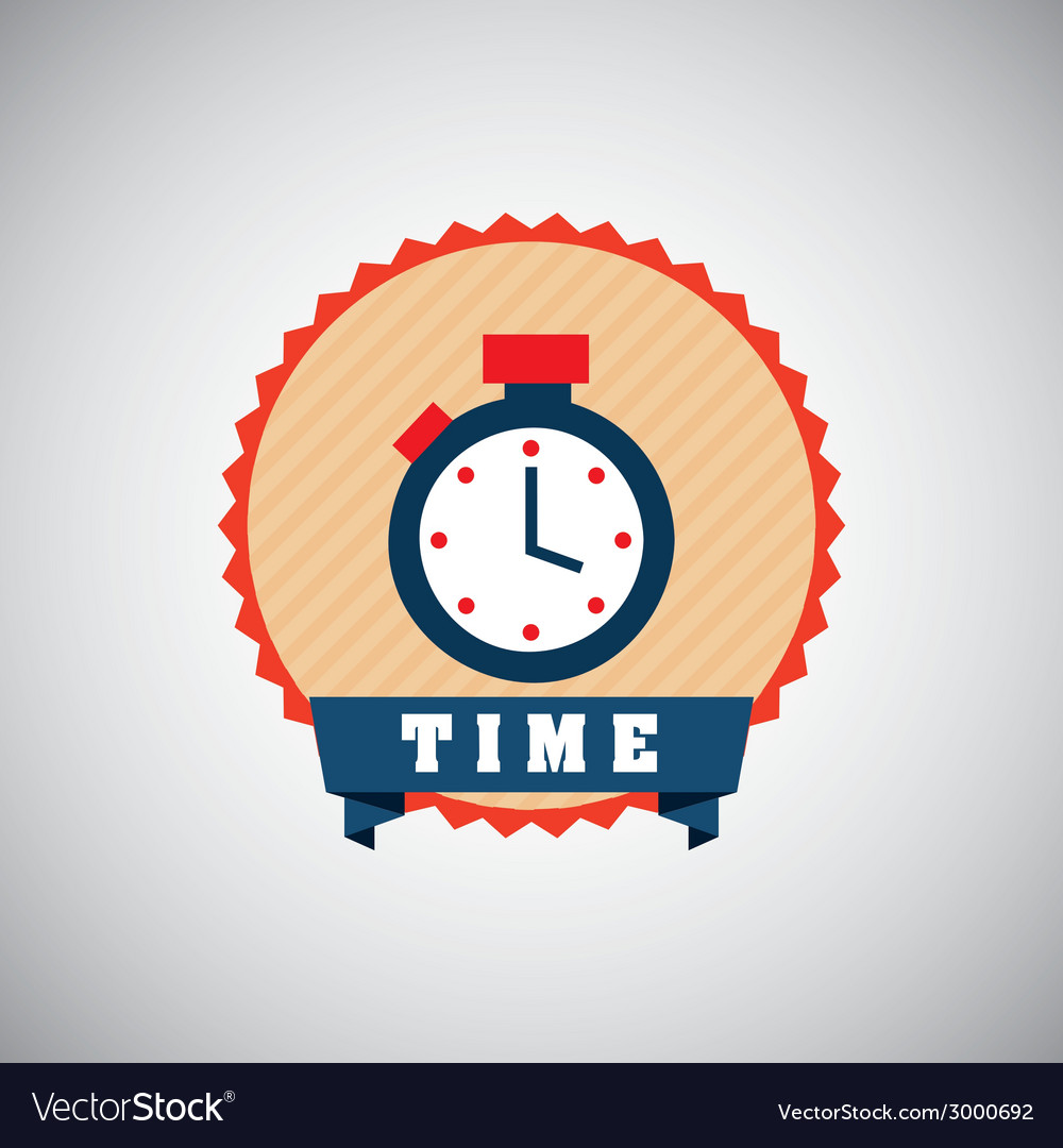 Timer design vector | Price: 1 Credit (USD $1)