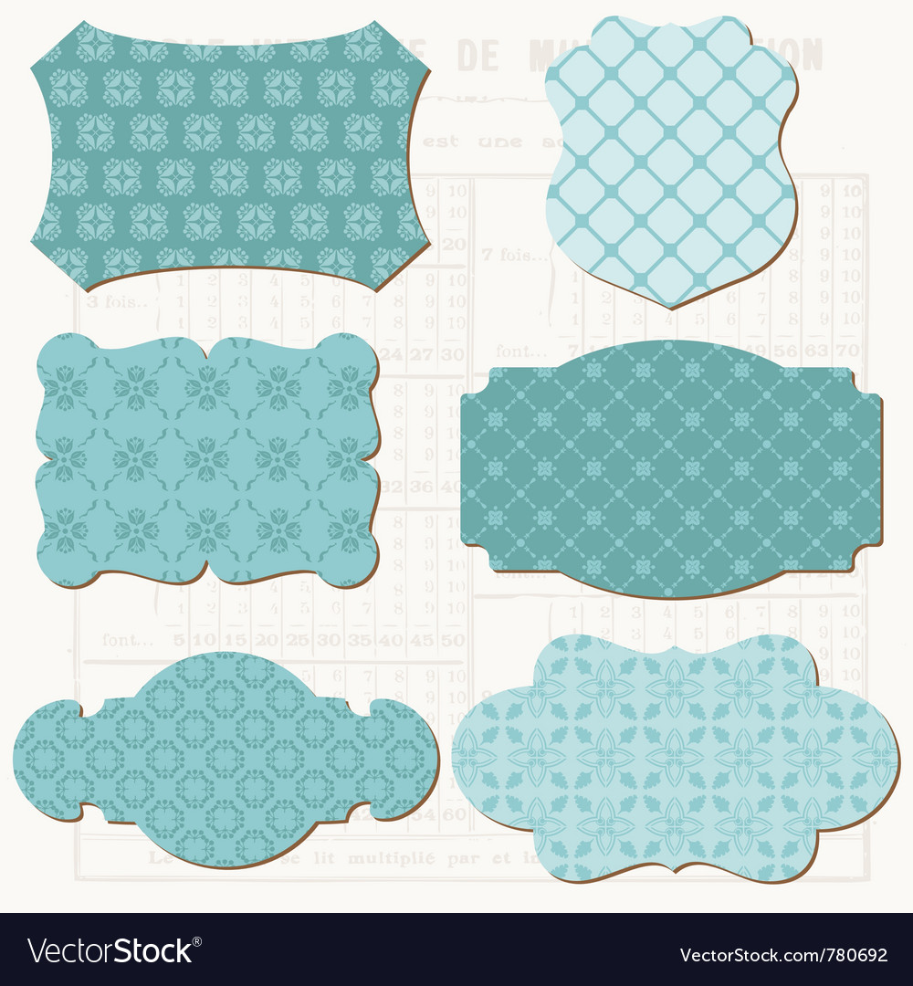Vintage scrapbook vector | Price: 1 Credit (USD $1)