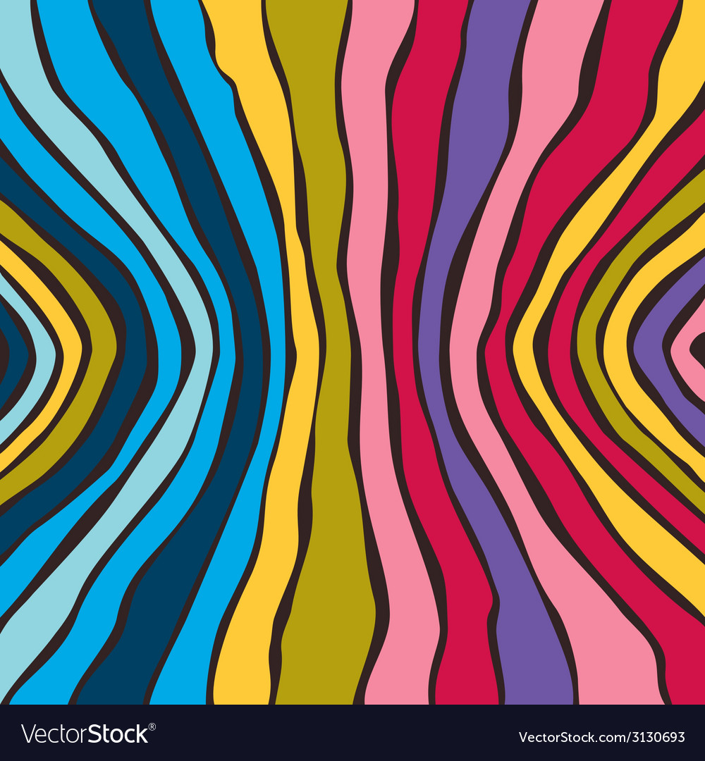 Abstract striped colorful background vector | Price: 1 Credit (USD $1)