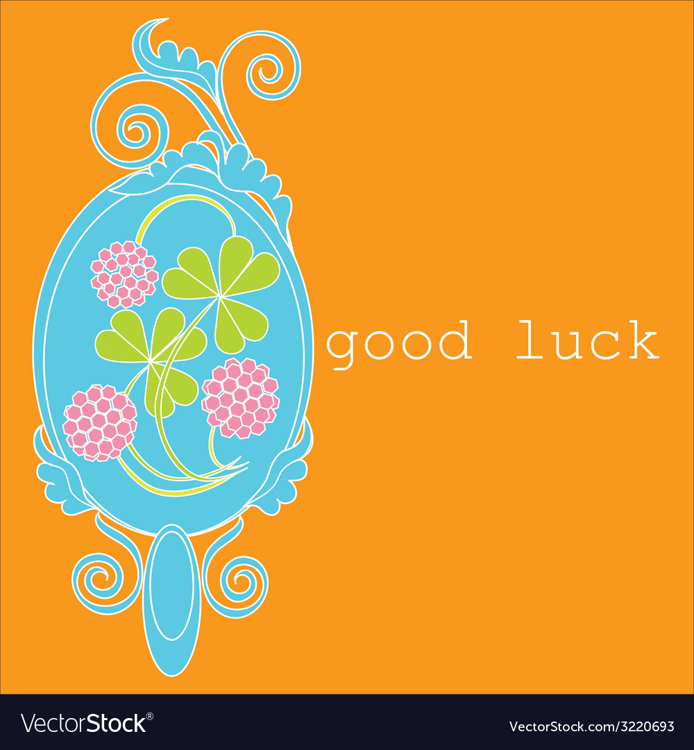 Good luck vector | Price: 1 Credit (USD $1)